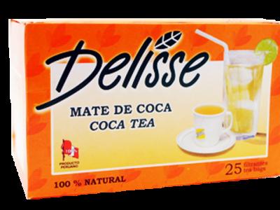 Delisse Coca Tea Bags – 25-Pack